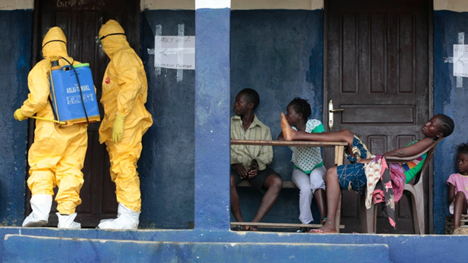 Ebola cases 'down significantly' in Liberia