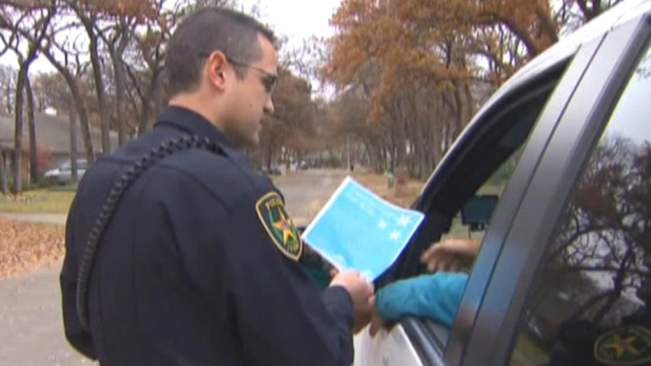 Town lets traffic violators donate toys in lieu of tickets