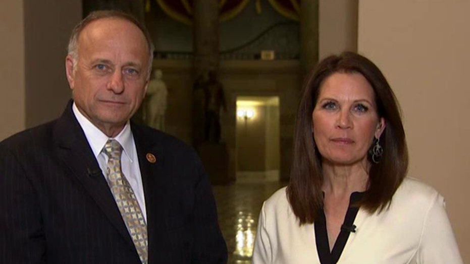 Bachmann, King on why conservatives oppose spending bill