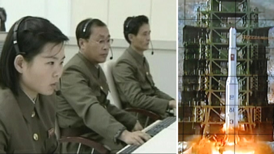 North Korea releases control room footage of rocket launch