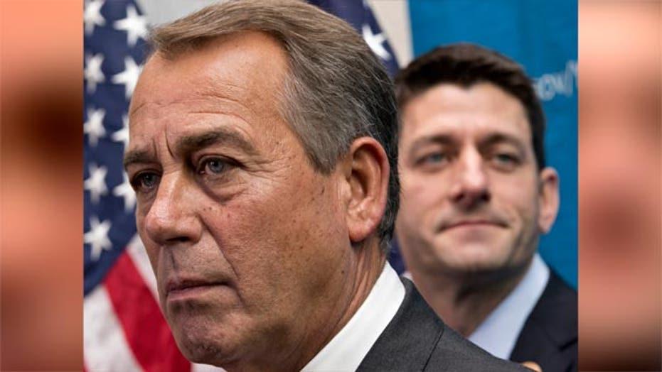 Speaker Boehner defends budget agreement