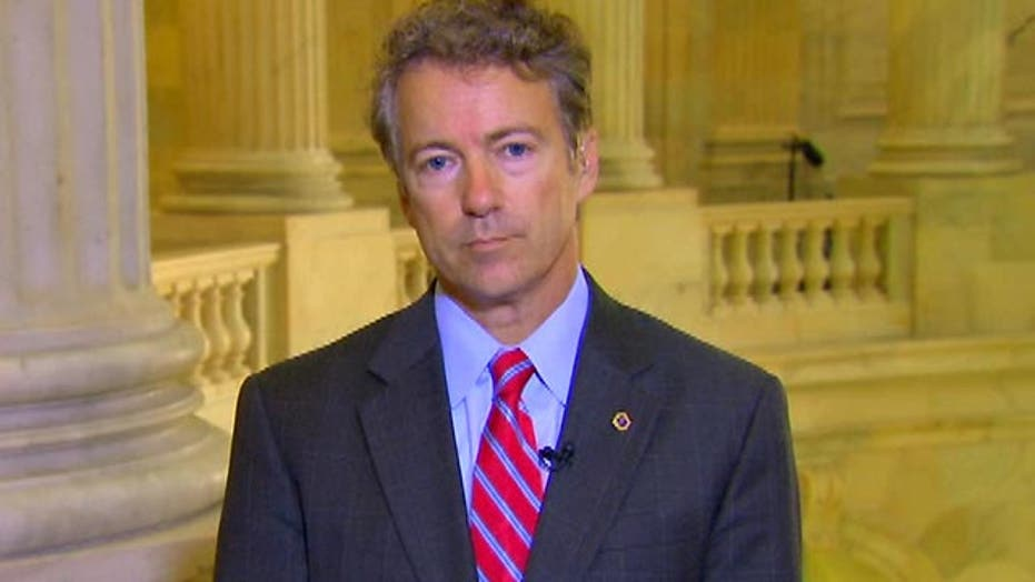 Rand Paul says spending fight is 'crummy way to run gov't'