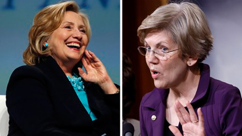 Will Elizabeth Warren give Clinton a run for her money?