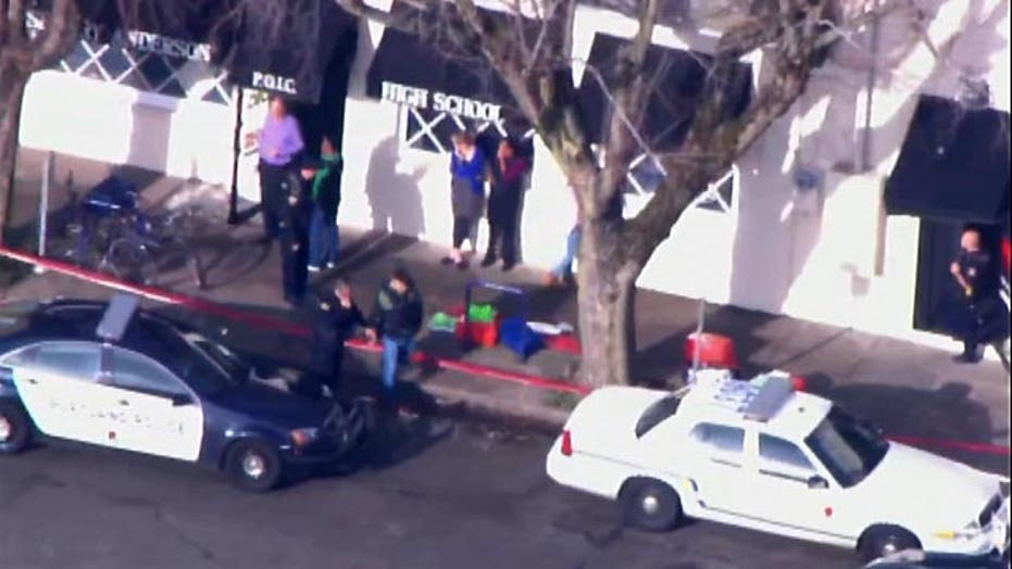 Police: Shooting at alternative high school in Oregon