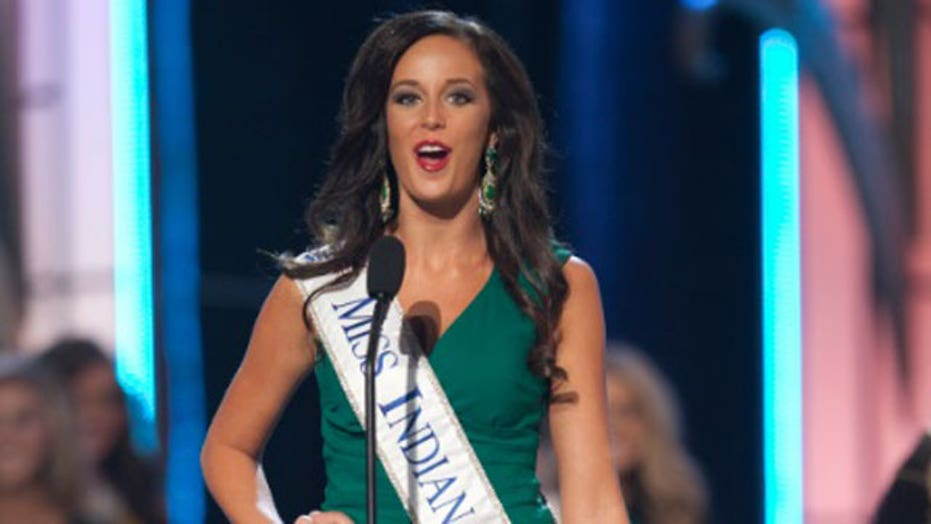 Miss Indiana 2013 arrested