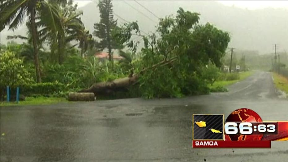 Around the World: Cyclone sweeps through Samoa