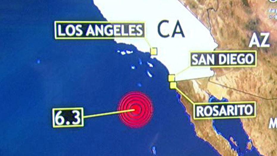 Powerful, 'unusual' quake strikes off California coast