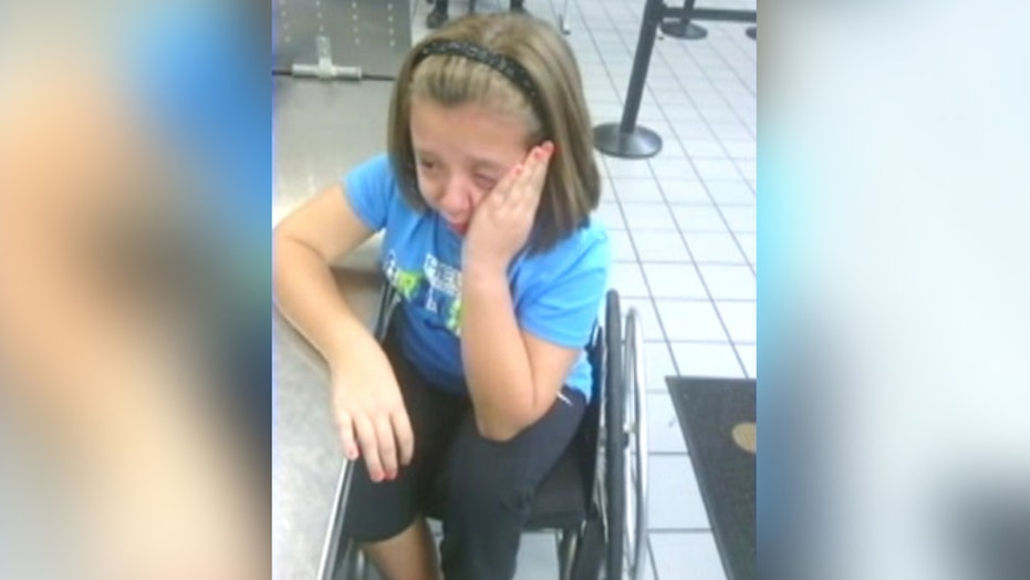 Airport insecurity: Wheelchair girl detained by TSA agents