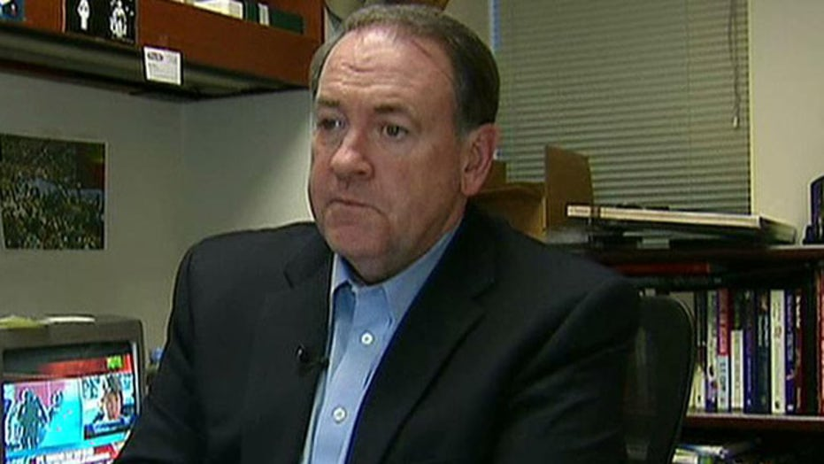 Gov. Mike Huckabee's big announcement