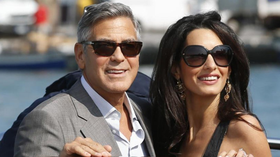 Clooney's wife really that fascinating?