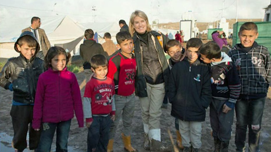 Greta: Why my trip to a Syrian refugee camp was so important
