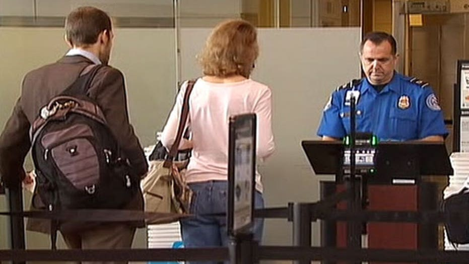 No more disrobing in airport security lines