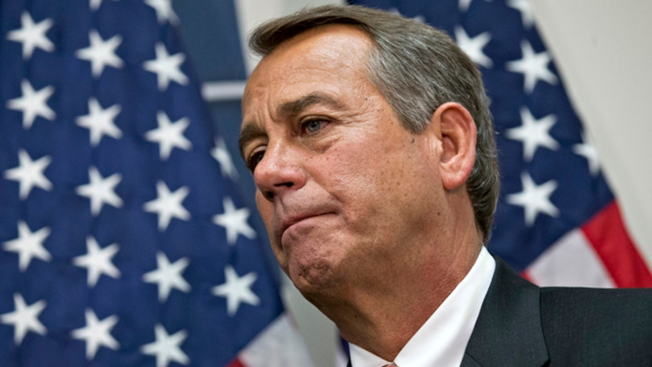Is Boehner caving on tax hikes?