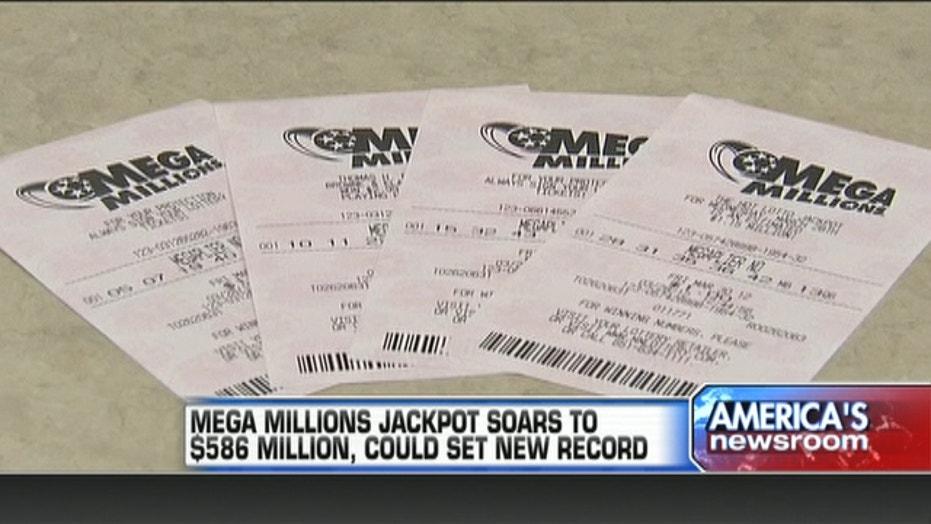 Mega Millions Jackpot Soars To $586 Million