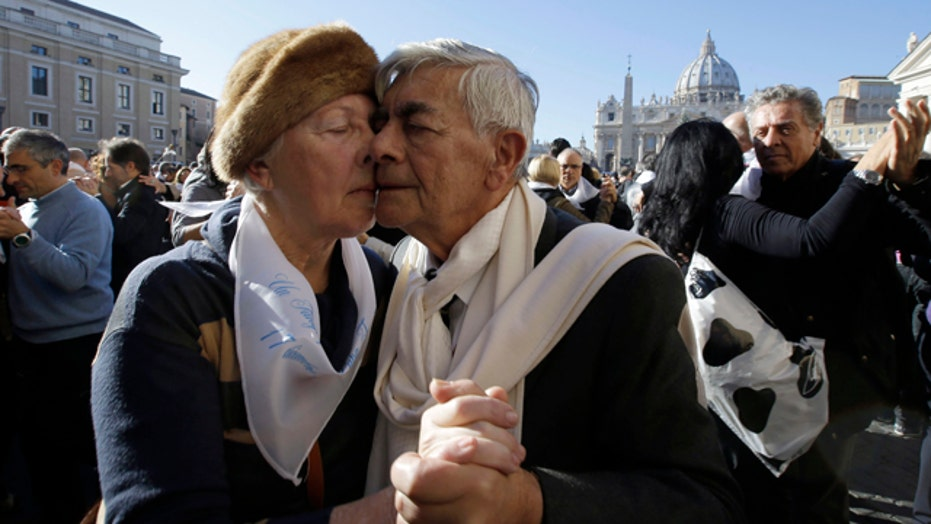 Flash mob dancers descend on Vatican for pope's birthday