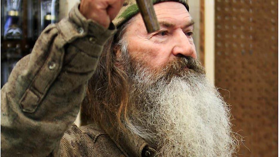 A&E suspends 'Duck Dynasty's' Phil Robertson