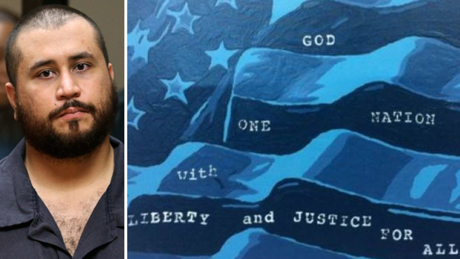 Online bids soar for George Zimmerman artwork
