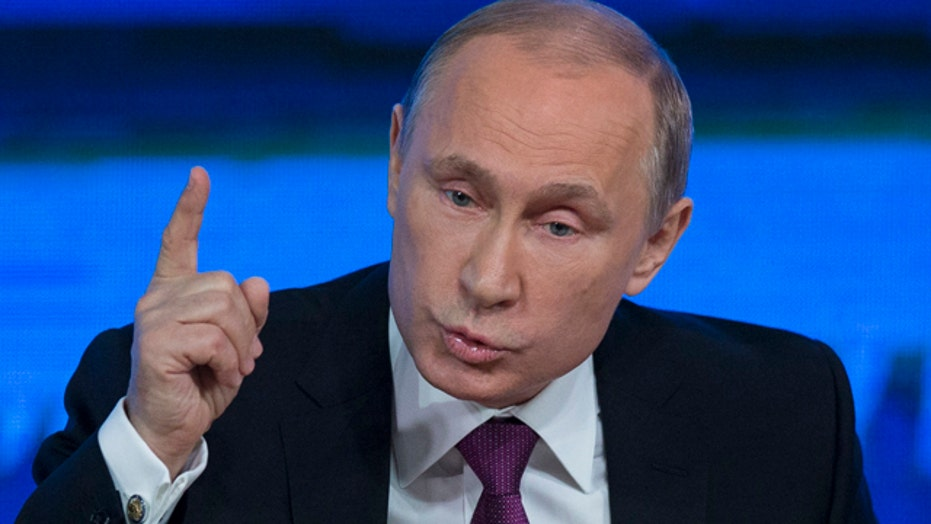 Putin says West partially to blame for plummeting ruble