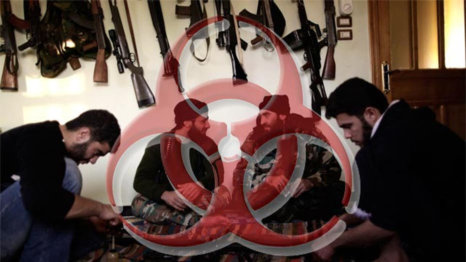 Syrian rebels fear use of chemical weapons
