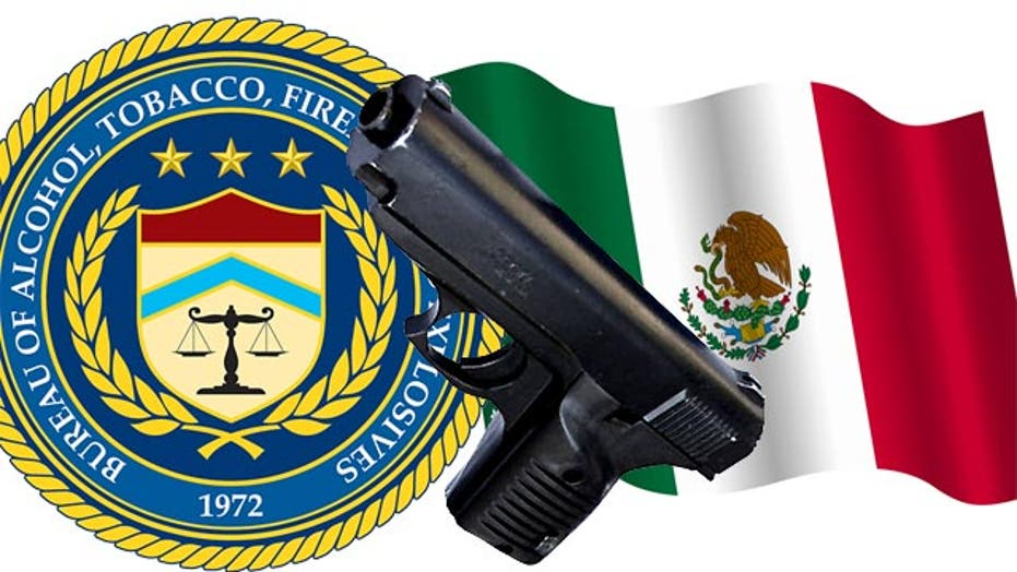 ATF official's gun ends up at Mexican crime scene