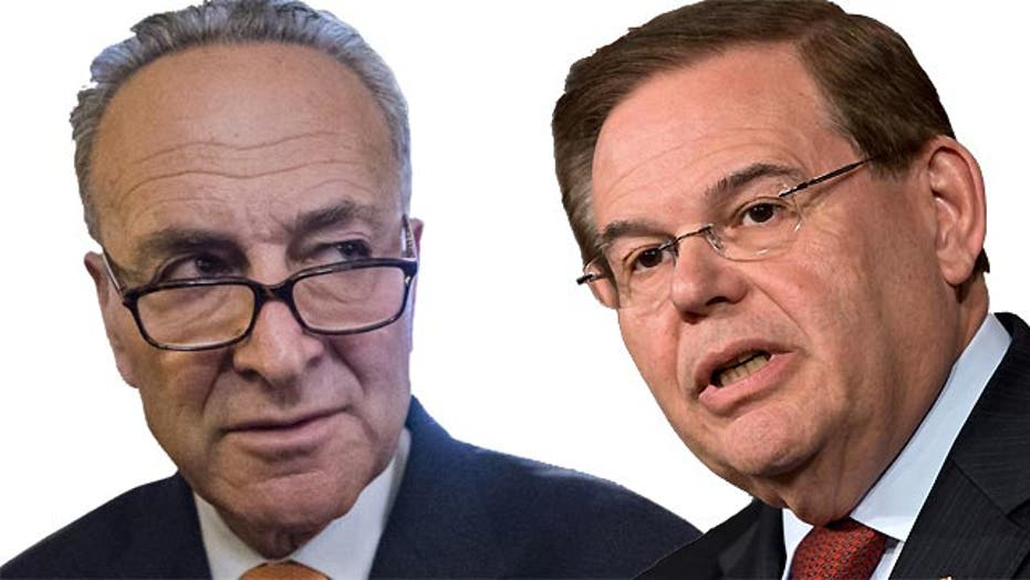 Some Senate Dems back stronger sanctions for Iran