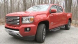 Fox Car Report's Gary Gastelu tries out GMC's small truck in the great outdoors.