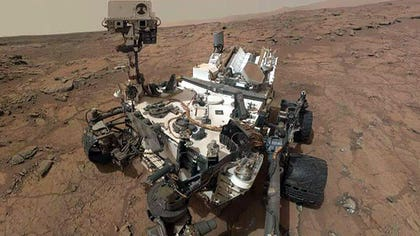 Curiosity rover discovers methane