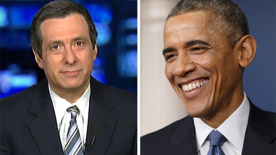 Kurtz: Press doesn't lay a glove on Obama