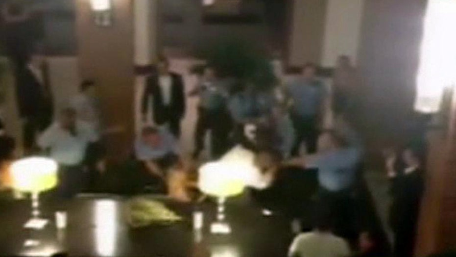 Two defendants in wedding brawl heading to trial