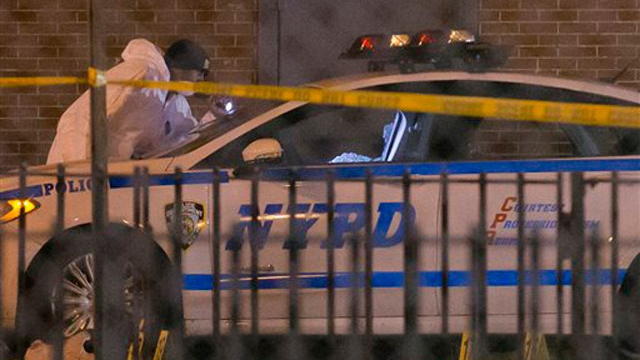 Two NYPD cops shot, killed on patrol