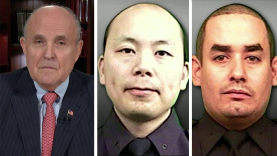 Rudy Giuliani on murder of two NYPD officers