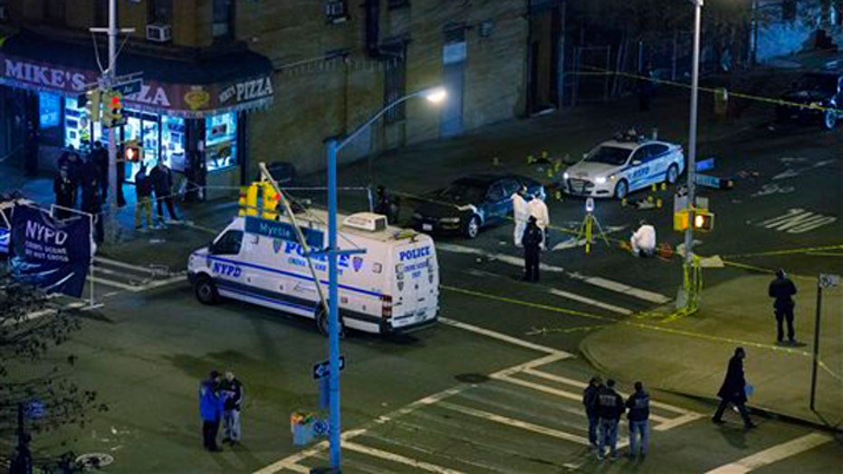 Two NYPD officers dead in execution-style ambush