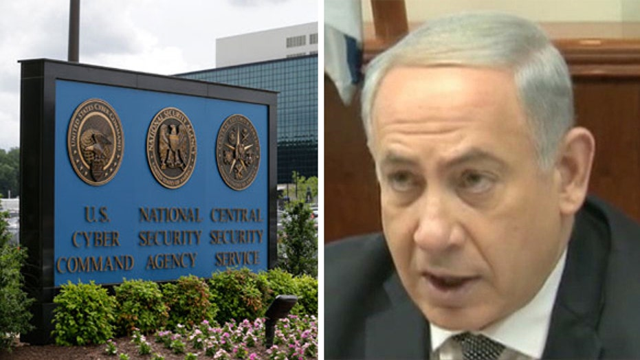 Israel condemns US for reports of NSA spying