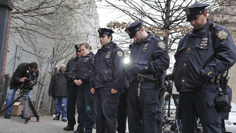 Police on alert across America after murder of NYPD officers