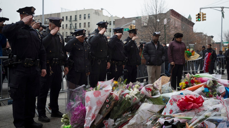 The cold blooded execution of two NYPD officers