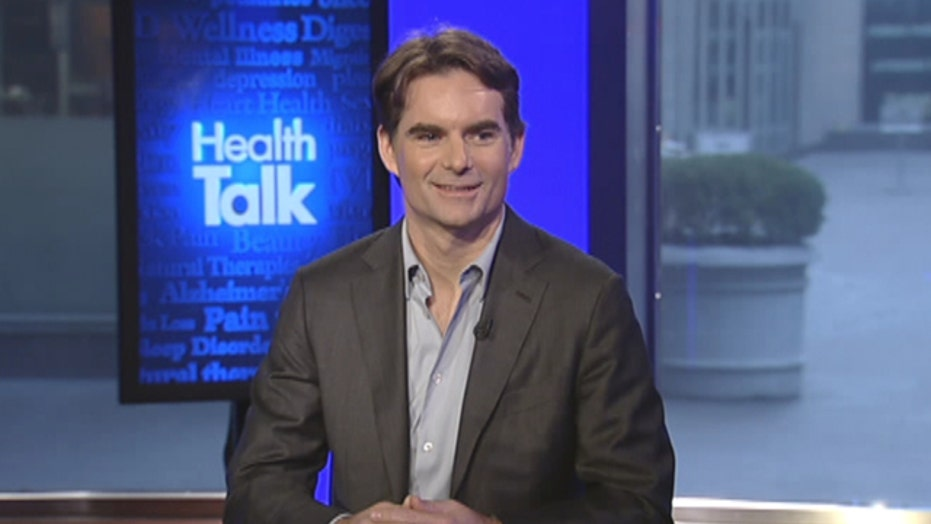 Jeff Gordon drives out whooping cough