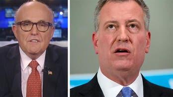 Rudy Giuliani: Mayor de Blasio owes apology to NYPD