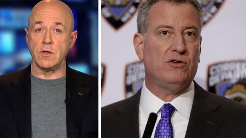 Bernard Kerik says de Blasio has lost respect from NYPD
