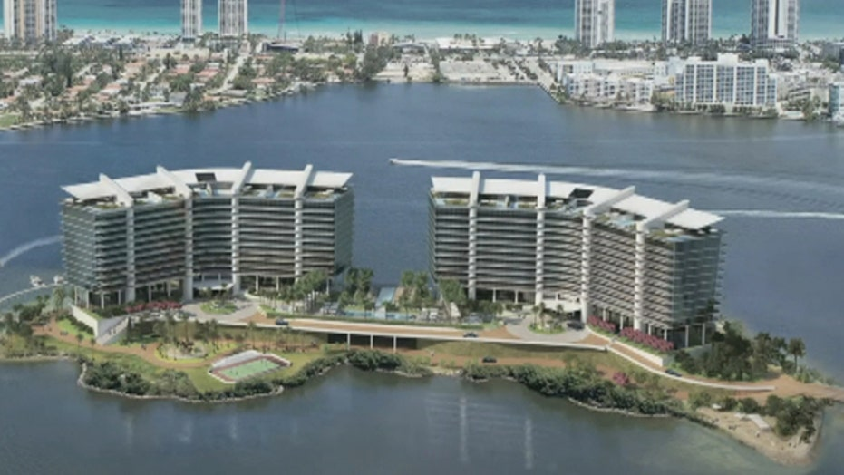 Millionaire vs. millionaire in private island condo proposal