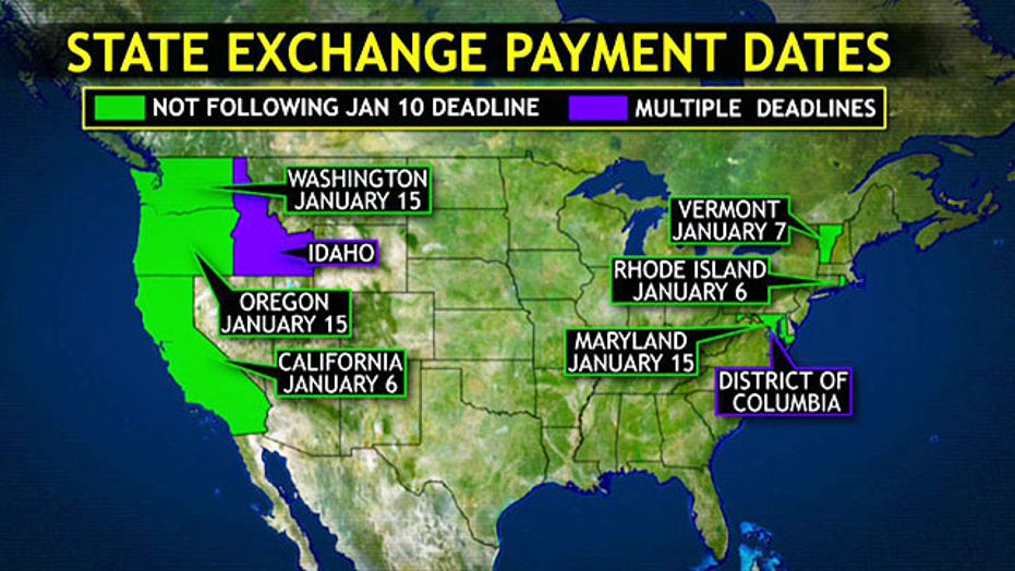 Different state deadlines add to ObamaCare confusion