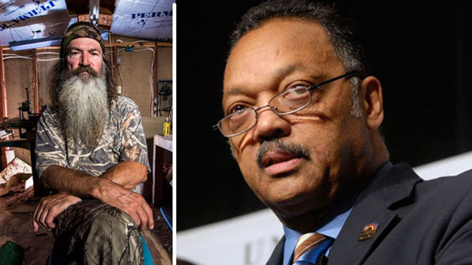 Rev. Jackson takes on 'Duck Dynasty'
