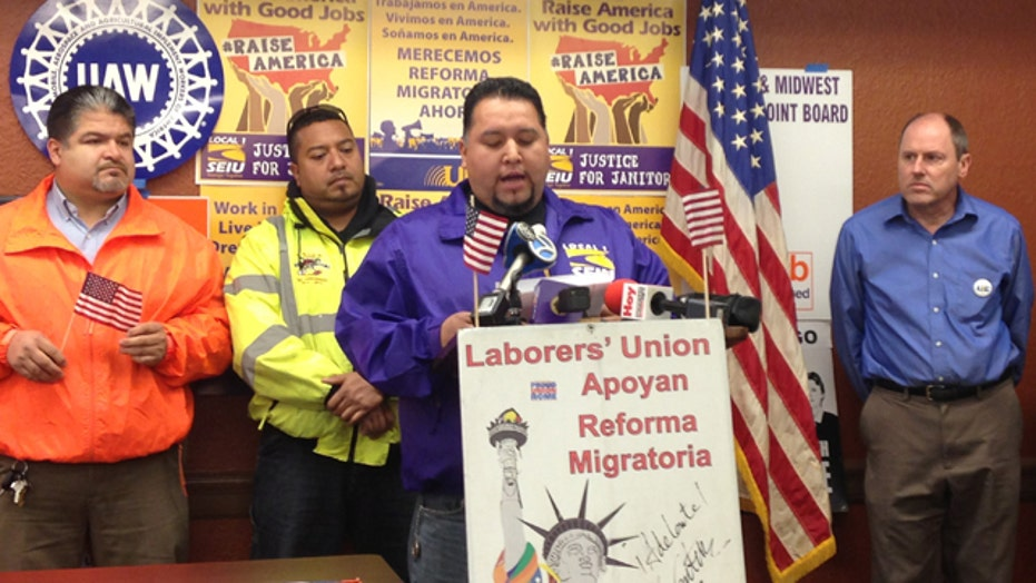 Unions to recruit immigrants protected by Obama exec order