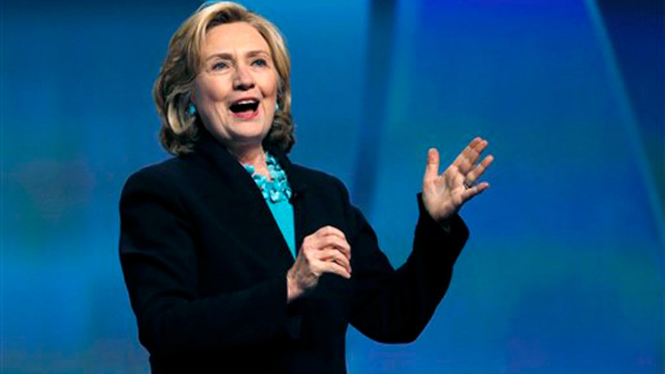 Hillary Clinton takes big lead in polls with Dems' support
