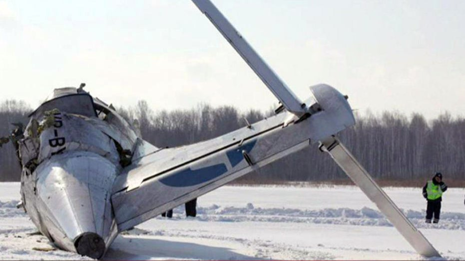 4 dead after Russian plane crashes into highway