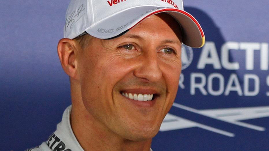 Schumacher shows small improvement after second surgery