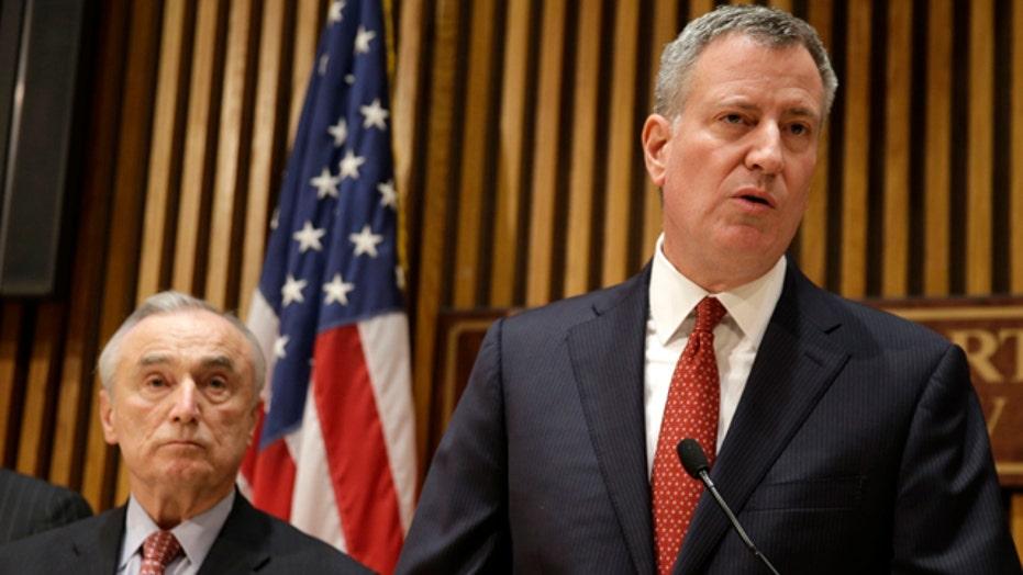 All trust broken between Mayor de Blasio, NYPD?