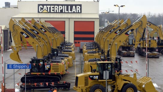 Caterpillar tumbles as 'high-water mark' cited by CFO