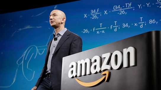 Amazon founder Bezos' $65M jet seen at airports near potential HQ2 sites