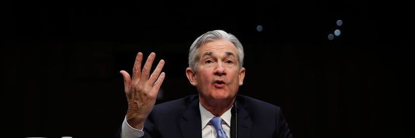 Powell credits strong US economy to Fed policies