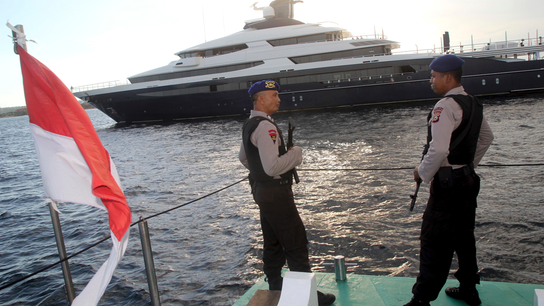 Indonesia faces challenge to seizure of yacht wanted by US